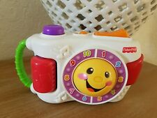 Fisher Price Kids Camera Laugh Teach Learn Sing Sounds Music