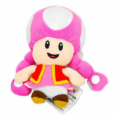 Toadette 7in Super Mario Bros Plush Toy Game Collectible Doll Xmas Gifts