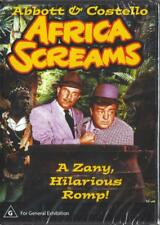 AFRICA SCREAMS - ABBOTT & COSTELLO - NEW & SEALED DVD - FREE LOCAL POST