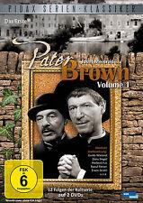 2 DVDs * PATER BROWN, VOL. 1 - KULTSERIE MIT JOSEF MEINRAD # NEU OVP