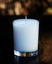 40hr WHITE TEA & GINGER Scented ORGANIC ECO SOY WAX Jar Votive Candle Gift Wrap