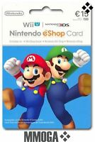 Nintendo eShop Card 15 Euro per E-Mail Versand - Nintendo eShop Key 15€