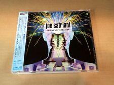 JOE SATRIANI ENGINES OF CREATION SRCS-2234 JAPAN CD w/OBI 49468