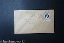 China cover fm hk to HK FDC for QEII Coronation dd 2nd June 1953