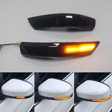 LED Dynamic Turn Signal Mirror Sequential Light For Ford Focus 3 MK3 MK3.5 11-18