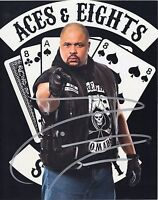 TNA SIGNED PHOTO D LO BROWN ACES & EIGHTS WRESTLING PROMO WITH COA WWF WWE WCW