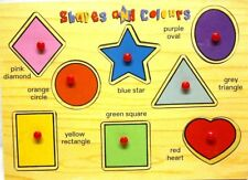 Puzzles,Toys,Games,Jigsaw,Wooden Board Shapes,early learning centre,knowledge,
