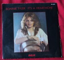 Bonnie Tyler, it's a heartache / i've got so used to loving you, SP - 45 tours