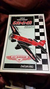 1996 Ertl 1932 Northrop Gamma Diecast Bank by Ace Hardware