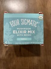 Four Sigmatic Mushroom Elixir Mix Reishi ~ 20 Count Organic Packets Best 03/2023