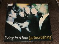 Living In A Box – Gatecrashing LP OIS DE 1989 VG+ / VG++