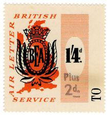 (I. B) Cendrillon Collection: BEA Air Lettre service 1/6d