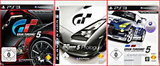 SONY PS3 4 GAMES: GT GRAN TOURISMO 5 + PROLOGUE + ACADEMY+EXTRA GAME