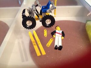 Vintage Lego Technic 8620 Arctic Snow Scooter - incomplete
