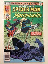 Marvel Team-Up #95/Bronze Age Marvel Comic Book/1st Mockingbird/FN-VF