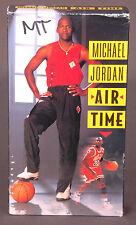 Michael Jordan Air Time VHS-Movie-Basketball NBA-Chicago Bulls-CBS FOX Sports...