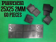 25mm 25x25mm 2mm plastic square miniature bases Warhammer BUY 2 PACKS GET 1 FREE
