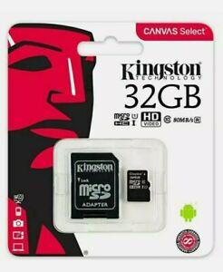 32GB Micro SD Card MEMORY TF U1 For Mobile,Tablet,Camera,Dash Cam,Sat Nav 100MBs