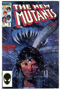 New Mutants #18 (1984) NM- New Collection 1st Warlock