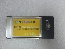 New listing Netgear 802.11b Wireless Pc Card Model Ma401