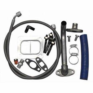 Fleece S300 S400 Turbo Installation Kit For 2001-2010 GM 6.6L Duramax Diesel