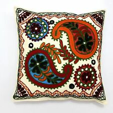 Beautifully Made Suzani Handmade Home Decor Pillow Sham Couch Cushion Cover Case