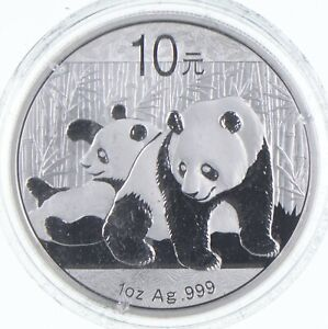 2010 China 10 Yuan - 1 Oz. Silver Panda *648