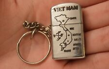 #k13 Vietnam War Key Chain Lighter Nha Trang 68-69 Please ask me not why