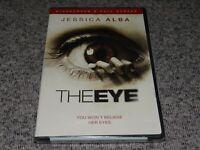 THE EYE Full & Widescreen DVD Jessica Alba, Horror BRAND NEW & FACTORY SEALED