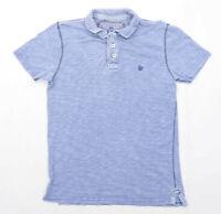 Fat Face Mens Size S Cotton Blue Top