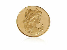 Stunning Queen Bullion Pure Gold Coin In Solid 995 Stamped 24Karat Yellow Gold