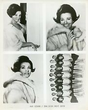 KAY STARR THE KIDS NEXT DOOR HERE COME THE STARS GAME SHOW ORIGINAL '67 TV PHOTO