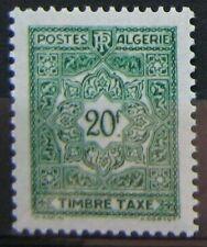 ALGERIE Taxe 45  - Neuf** sans charniere
