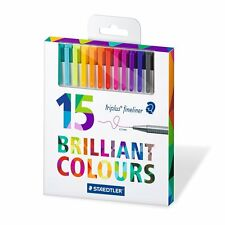 Staedtler Triplus Fineliner 334 C15 - 15 brilliant colours