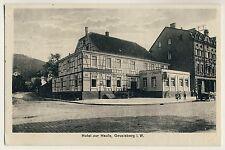 Gevelsberg Vestfalia/hotel alla Haufe/il proprietario H Reuter * AK per 1920
