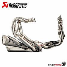 Akrapovic full exhaust system racing for Ducati Panigale V4 - V4S