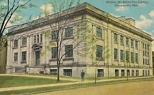 Reuben McMillan Free Library Youngstown OH Postcard