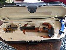 Tucker Barrett Five String Electric Violin with Case and Bow