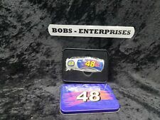 Number 48  Nascar Tin Box & Knife BRAND NEW   KN-2