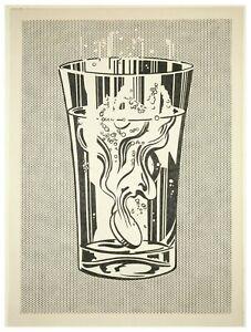 Roy Lichtenstein Alka Seltzer Giclee Art Paper Print Poster Reproduction