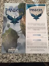 Disney World Pandora World of Avatar Animal Kingdom Opening Day Park Map 2017
