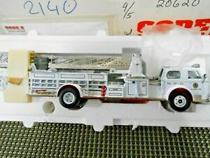 Franklin Mint 1:32 Code 3 Norfolk VA Fire Department 1956 ALF 700 Ladder