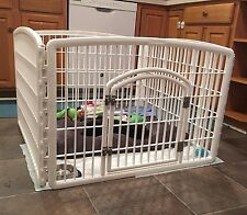 Cages Playpen Panel Dog Rabbit Bunny Hutch House Pet Small Animal 4 Panels 24""