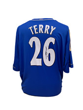4e78e4ab7 JOHN TERRY SIGNED CHELSEA ADIDAS 2012 13 FOOTBALL SHIRT SEE REAL PROOF   COA