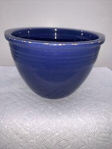 Vintage Fiestaware #2 Small Nesting Mixing Bowl Cobalt Blue Fiesta Well Used