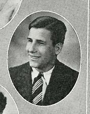 FRANZ KLINE High School Yearbook SENIOR Year Pages some of his earliest artwork
