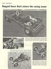 Vintage 1961 Sears Go-Kart Introduction Ad