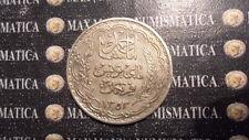 TUNISIA 20 FRANCS FRANCHI 1353-1934 ARGENTO SILVER