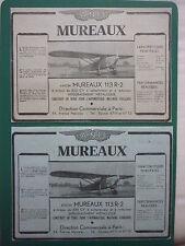 5/1934 PUB ANF LES MUREAUX NORD AVION 113-R.2 AIRCRAFT AERONAUTIQUE MILITAIRE AD
