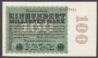 Germany 100 million mark 1923 UNC P#107c